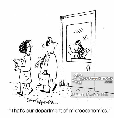 """That's our department of microeconomics."""